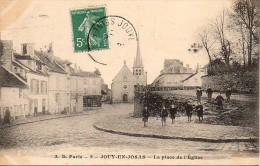 78 JOUY-en-JOSAS  La Place De L'Eglise - Jouy En Josas