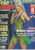 """TELE LOISIRS  N° 824  """" BRITNEY SPEARS  """" -   DECEMBRE  2001 - Télévision"""