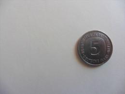 Allemagne :  5 Deutsche Mark 1975 - 5 Mark