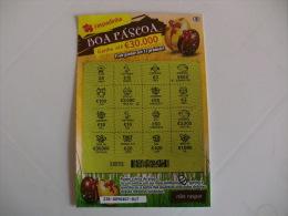 Loterie/ Lottery/ Loteria/ Lotaria Instant Instantânia Raspadinha Boa Páscoa Jogo Nº 238 Portugal - Billets De Loterie