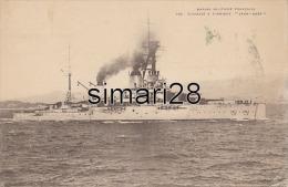 MARINE MILITAIRE FRANCAISE - N° 13214 - CUIRASSE A TURBINES - JEAN-BART - Warships