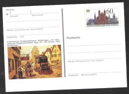 """Deutschland Ganzsache Mi 1444 PSo 23 2000 Jahre Speyer  """"Internationale Briefmarkenausstellung Sindelfingen Oktober 1990 - [7] Repubblica Federale"""