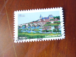 OBLITERATION   SUR TIMBRE  YVERT N° 840 - Adhesive Stamps