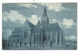 CPA - VILVOORDE - VILVORDE - Eglise Paroissiale // - Vilvoorde