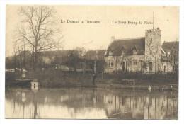 CPA - Le Donjon à DIEGHEM - DIEGEM - Le Petit étang De Pêche  // - Machelen
