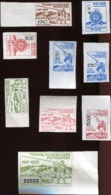 1993 Ukraine Local Post; LEMKIVSKOJ Shepherd With Sheep And Horn Imperforate Set Of Stamps Without Gum