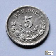 México - 5 Centavos - Guanajuato - 1897 - Mexiko