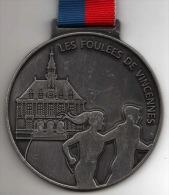 Médaille Marathon : Les Foulées De Vincennes (avec Ruban) - France