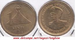 Lesotho 1 Sente 1985 Km#16 - Used - Lesotho