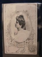 * BEAUREGARD * Portrait De Femme Par REUTLINGER /Affr.mixte SAGE & BLANC-Tarif- - Illustrators & Photographers