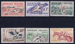 France: 1953 Yv Nr 960 - 965  MNH/** Neuf Sans Ch. - France