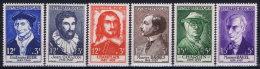 France: 1956 Yv Nr 1066 - 1071 MNH/** Neuf Sans Ch. - France