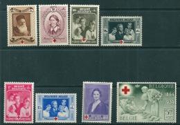 Belgium 1939 SG 839-46  MNH - Belgium
