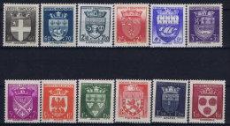 France: 1942 Yv Nr 553 - 564  MNH/** Neuf Sans Ch - Frankreich