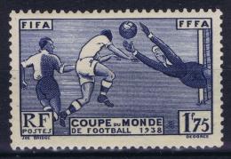France: 1938 Yv Nr 396 MNH/** Sans  Ch. - Unused Stamps