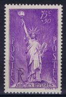 France: 1936 Yv Nr 309 MNH/** Sans  Ch. - Unused Stamps