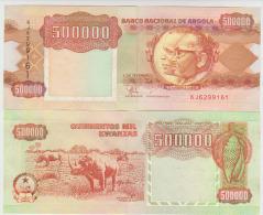 Angola 500000 Kwanzas 1991 Pick 134 UNC - Angola