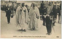 Sultan Moulai Hafid Né A Fez Interprete Ben Ghabrit à Vichy Franc Maçon Loge Rousseau Montmorency  Enghien Les Bains ELD - Morocco