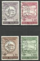 Vatican - 1962 Malaria Eradication Set Of 4 Used  SG 370-3  Sc 326-9 - Oblitérés