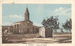RIVOLI. PLACE DE L' EGLISE - Algérie