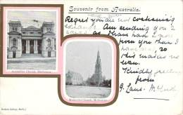 Australie - Souvenir From Australia, Melbourne Australian Church, Methodist Church - Melbourne