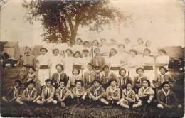 Scoutisme - Groupe De Scouts De Montluçon, Carte Photo - Scouting