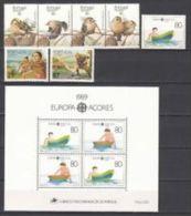AZORES - ANNATA COMPLETA 1989 MNH** - Açores