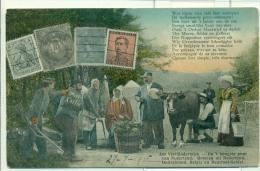 Vaals - Aken - Grenze - Grens - Kelmis - Vierlanderblick - Aachen - Neutral Gebiet - Moresnet - 1915 - Vaals