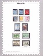 FINLANDIA - EMISSIONI DIVERSE - USATO - Briefmarken