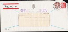 1938. RADIOBREV. SØNDAGSBREV. LYNGBY 5.6.38. LYNGBY RADIO. SØNDAGS RADIOBREV.  (Michel: ) - JF221395 - Non Classés