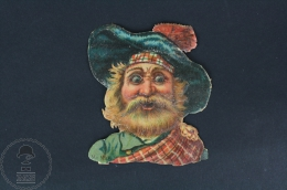 Old Scottish Highlinder Die Cut Trading Card/ Chromos Topic/ Theme - Otros