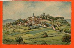 89 Vézelay - Vue Générale Sud Ouest - Illustrateur BARDAY - Vezelay