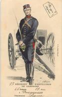 Réf : G-15-836 : 13° REGIMENT D ARTILLERIE DE CAMPAGNE  VINCENNES - Uniformi