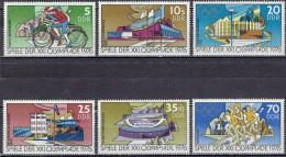 DDR / GDR - Mi-Nr 2126/2131 Postfrisch / MNH ** (w509) - Estate 1976: Montreal