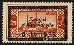 Alexandretta Scott #13, 1938, Hinged - Neufs