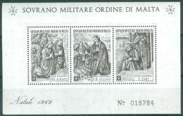 SMOM 1969 Christmas MNH** - Lot. A359 - Malta (Orde Van)