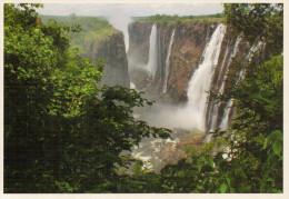 ZAMBIA  LE CASCATE VITTORIA    (VIAGGIATA) - Zambia