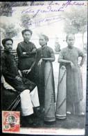 VIETNAM INDOCHINE  COCHINCHINE MUSICIENS ET MUSICIENNES  SPECTACLE LOISIRS - Viêt-Nam