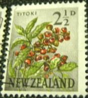 New Zealand 1960 Titoki 2.5d - Used - New Zealand