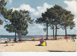 MAUBUISSON (33-Gironde), La Plage Au Bord Du Lac, Parasol, Ed. Iris Théojac - France
