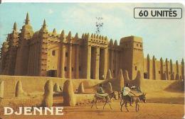 CARTE-PUCE-AFRIQUE-MALI-SC7 SCHLUM-SOTELMA-DJENNE-TBE- - Mali