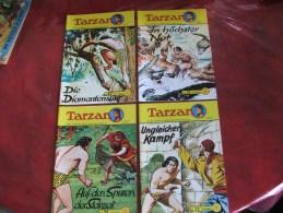 Lot De 7 Bd Tarzan En Allemand - Bücher, Zeitschriften, Comics