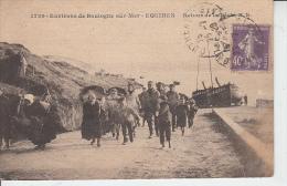 Environs De Boulogne Sur Mer - EQUIHEN - Retour De Pêche  PRIX FIXE - Pesca
