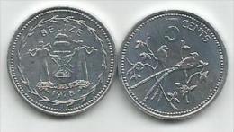 Belize 5 Cents 1978. - Belize