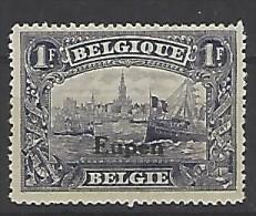 Belgio - Eupen - 1920 - Nuovo/new MH - Sovrastampati - Mi N. 11 - Eupen & Malmedy