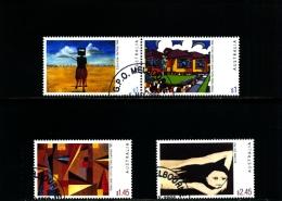 AUSTRALIA - 2003  AUSTRALIAN PAINTINGS  SET  FINE USED - Oblitérés