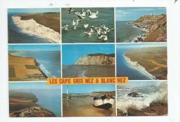 Cp , 62 , LES CAPS GRIS NEZ & BLANC NEZ , Multi - Vues , Voyagée 1986 , Ed : Artaud 102 - Autres Communes