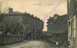 30. LE PRADEL . Le Chateau .  CPA Animée . - Frankreich
