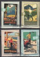 Australia 2007 Nostalgic Tourism - Mi.2822-25 -  Used - Used Stamps