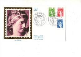 ENVELOPPE 1ER JOUR--- LES SABINES---PARIS---1ER SEPTEMBRE 1981 - FDC